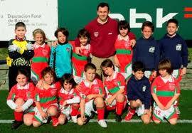 """Gorliz K.E.""""B"""" 2007-2008 - Fútbol 7 escolar - Alevín"""